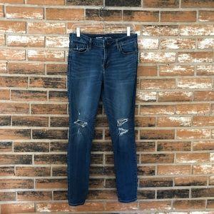 Old Navy Distressed Rockstar Jeans